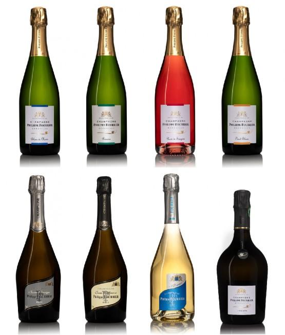 Nos Cuvées Champagnes